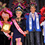 The Ministry of Culture Crowns Eddy Herrera and Miriam Cruz as King and Queen of the National Carnival Parade 2015